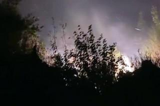 Из-за лесных пожаров в Черногории эвакуированы сотни людей