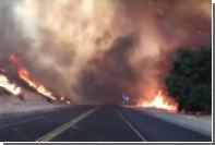 Из-за природных пожаров в Калифорнии эвакуированы тысячи жителей