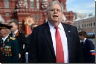 Посол США Теффт завершит свою миссию  в России в начале осени