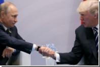 Трамп заявил об отсутствии разговора о санкциях с Путиным