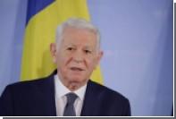 В Румынии пояснили отказ главы МИД от полета транзитом через Москву
