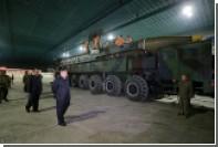 КНДР подтвердила второй запуск баллистической ракеты «Хвасон-14»