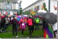 У резиденции Меркель отметили легализацию однополых браков