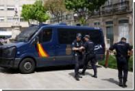 Неизвестный ранил двоих полицейских в Испании