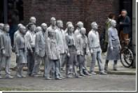 По улицам Гамбурга прошли зомби-протестующие