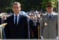 Макрон объявил об увеличении военных расходов Франции