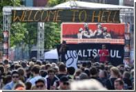 В Гамбурге началась акция антиглобалистов «Адский пикник»