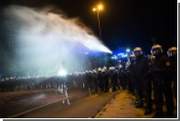 Немецкая полиция разогнала противников G20 водометами