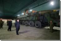 Трамп пообещал «так или иначе» решить ядерно-ракетную проблему КНДР