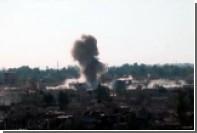 Сирийская армия атаковала позиции боевиков в пригороде Дамаска
