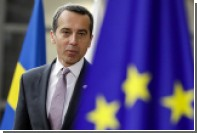Канцлер Австрии исключил вступление Турции в ЕС