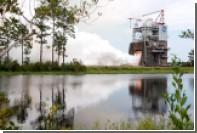 НАСА в третий раз испытало двигатель для сверхтяжелой ракеты