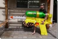 Бывший инженер НАСА создал самый мощный водяной пистолет