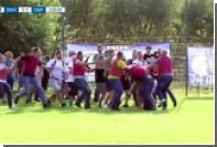 Фанаты «Днепра» подрались со стюардами после матча Кубка Украины