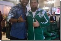 Роналдиньо сфотографировался с Рамзаном Кадыровым