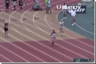 82-летняя спортсменка пробежала стометровку за 22 секунды