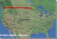 Самолет нарисовал сам себя в небе над США