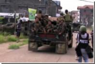 Поле боя филиппинских солдат и джихадистов в Марави показали на видео
