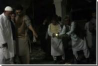 В сети появилось видео из поврежденной терактом мечети в афганском Герате