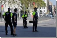 Вооруженные люди в барселонском ресторане вступили в переговоры с полицией