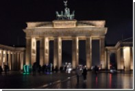 В Берлине отказались подсвечивать Бранденбургские ворота в цвета флага Испании