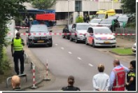 Захвативший заложницу на голландском радио мужчина задержан