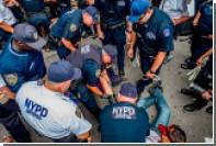 Американские полицейские обиделись на «голубой расизм» в США