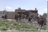 Разбомбленный саудовцами отель в Йемене показали на видео