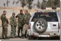 Сирийская армия отбила у оппозиции часть границы с Иорданией