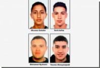 Опубликованы имена и фотографии разыскиваемых по делу о каталонских терактах