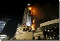 Пожар в дубайском Torch Tower потушен