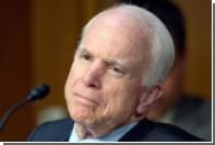 Маккейн отказался верить угрозам Трампа в адрес КНДР