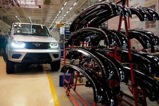 УАЗ перешел на режим неполной рабочей недели