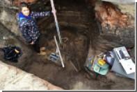 Под Омском нашли захоронение готового к схватке воина