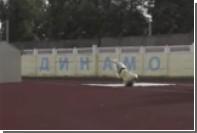 Пермский робот-марафонец упал во время первой тренировки