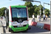 Беспилотные автобусы в Таллине нарушили ПДД на скорости 20 километров в час
