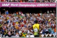 Болт завоевал бронзовую медаль на своем последнем чемпионате мира