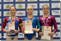 Гимнастка Мельникова одержала победу в личном многоборье на Кубке России