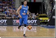 Итальянский баскетболист пропустит ЧЕ-2017 из-за полученного в драке перелома