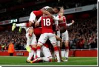 «Арсенал» и «Лестер» забили семь мячей на двоих в первом матче АПЛ