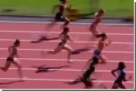Бегунья из Тринидада и Тобаго протаранила барьер во время забега на ЧМ в Лондоне