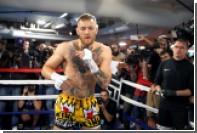 Появилось видео спарринга Макгрегора и бывшего чемпиона мира по боксу Малиньяджи