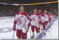 Болельщики хоккейного СКА спели прервавшийся гимн России а капелла