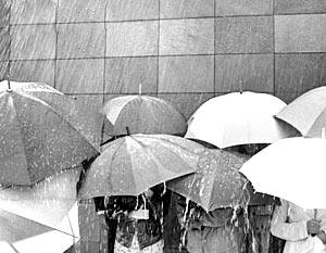 В Киеве прошел кислотный дождь