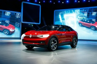 Volkswagen представил во Франкфурте новый электрический кроссовер