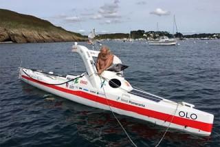 70-летний пенсионер в третий раз пересек Атлантический океан на байдарке