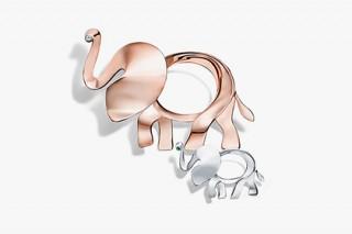 Tiffany & Co. увеличила «поголовье» своих драгоценных слонов