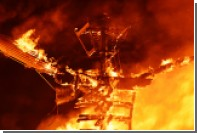 Мужчина погиб после прыжка в гигантский костер на фестивале Burning Man
