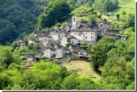 Самую маленькую деревню Швейцарии превратят в отель