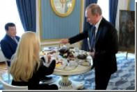 Путин выпил чаю с Кобзоном и одарил его «Шахтерской песней»